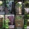 Красивые садовые калитки