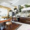 Комнатные растения на кухне