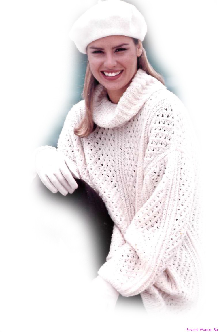 Интересный женский свитер с доставкой