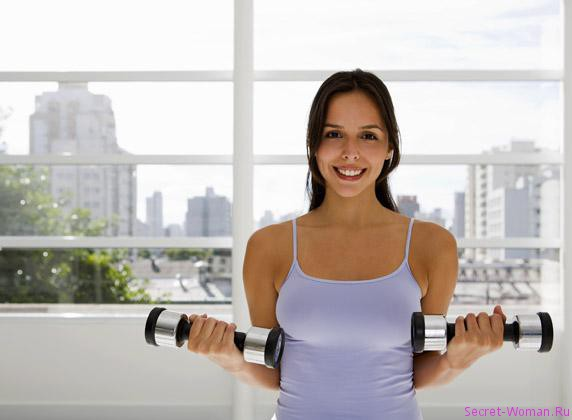 Упражнения для похудения – часть первая