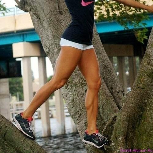 как похудеть ноги а не накачать