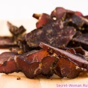 Бастурма - натуральный деликатес
