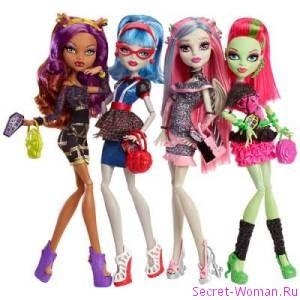 Главные особенности кукол Монстер Хай от компании Mattel (США)