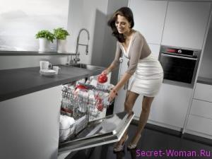 установки современной посудомоечной машины
