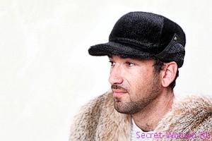 мужские норковые шапки