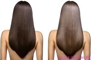 Есть ли польза от ламинирования волос