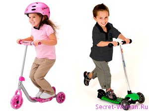 Малыши тоже любят скорость