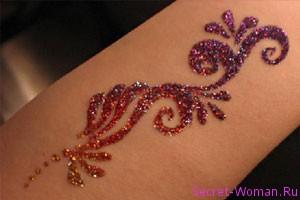 трафарет для татуировки
