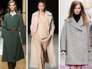 женские пальто в тренде