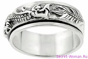 Выбираем стильные серебряные кольца